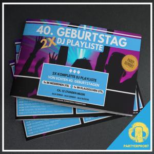 www.djmikehoffmann.de: 40. Geburtstag DJ Playliste