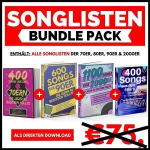 Songlisten Bundle Pack