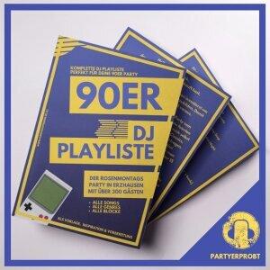 90er Party DJ Playliste