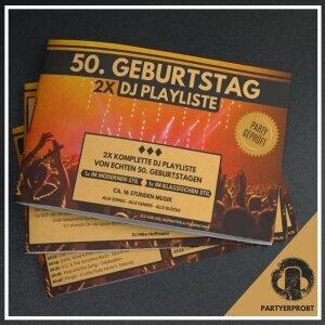 www.djmikehoffmann.de: 50. Geburtstag DJ Playliste