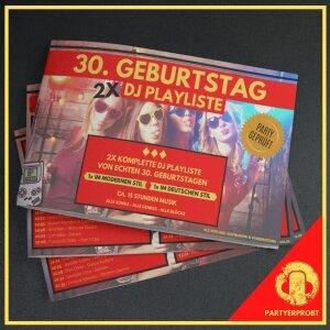 30. Geburtstag DJ Playliste