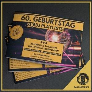 www.djmikehoffmann.de: 60. Geburtstag DJ Playliste